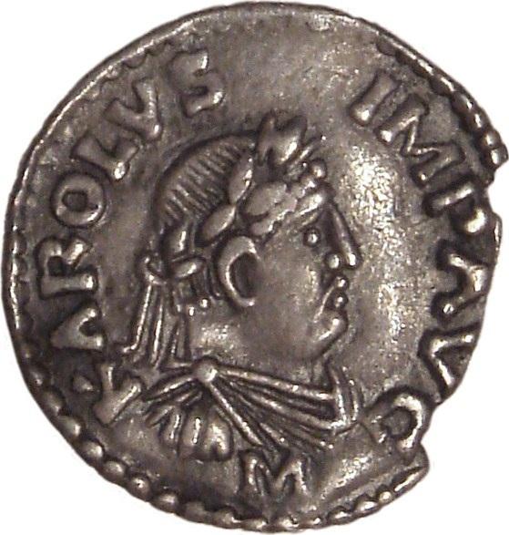 Charlemagne Coin W Ikimedia
