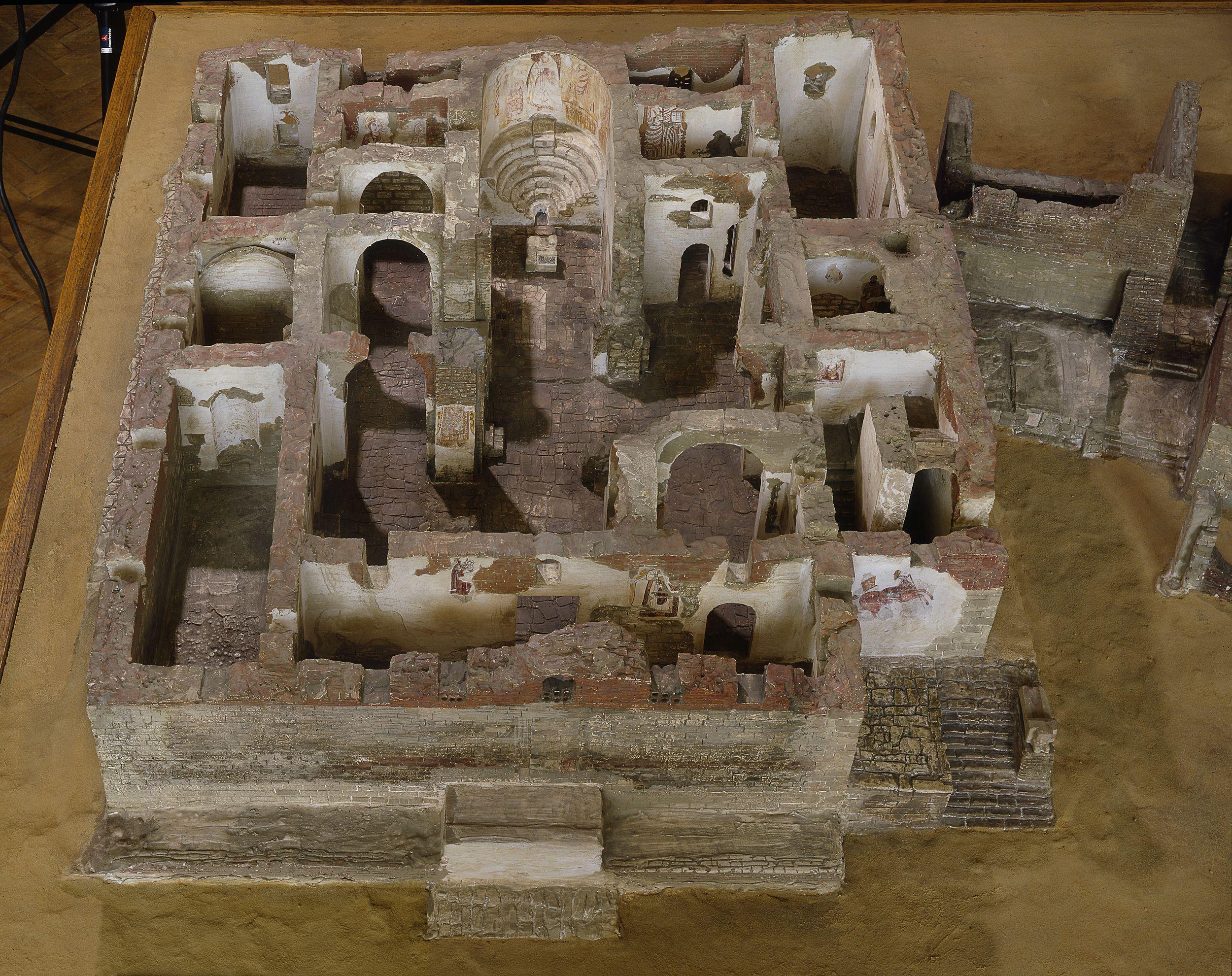 Medieval Nubia Faras Cathedral Model
