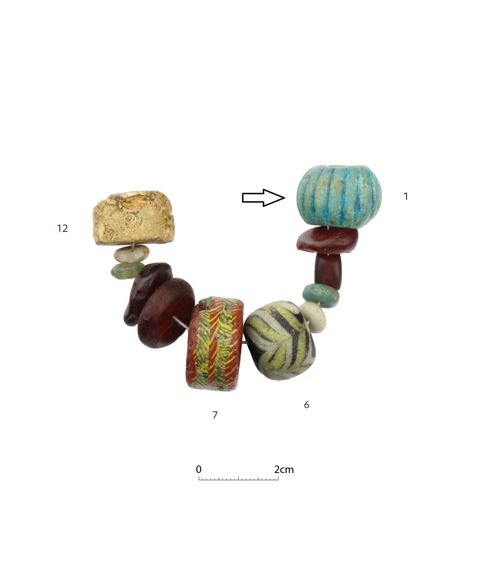 Merovingian beads 4