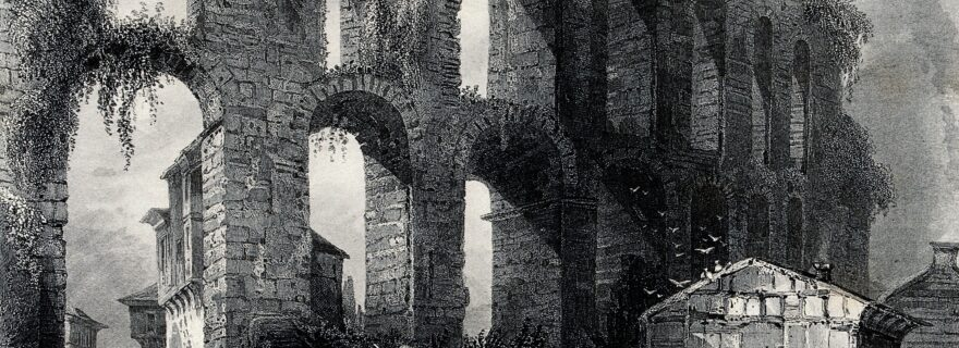 Aqueduct warfare: Water infrastructure and sieges in post-Roman Europe