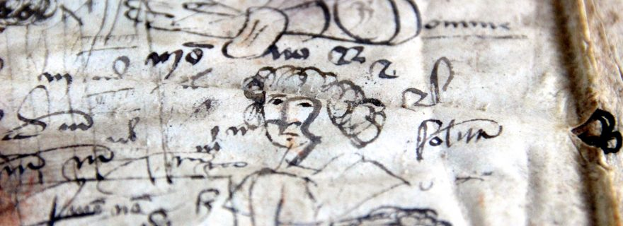 Doodling in the Middle Ages