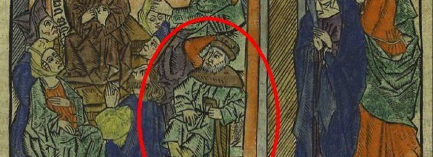 Who's That Guy? Identity Crisis in a Fifteenth-century Woodcut