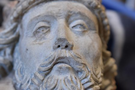 A damaged God-the-Father figure from Zutphen
