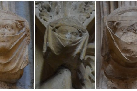 'What list yow thus youreself to disfigure?' On medieval face coverings