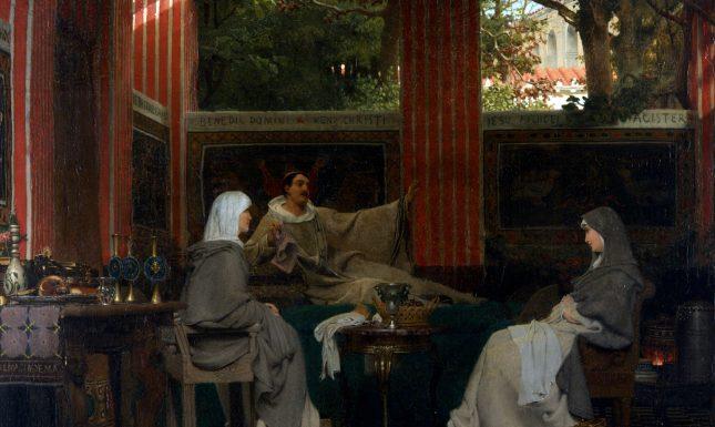 Alma Tadema Venantius Fortunatus Dordrechts Museum licht