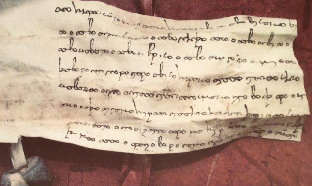 Bactrian document