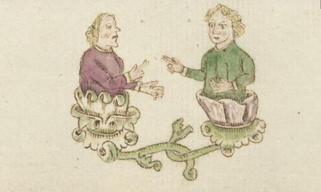 LMB GW Medieval talking friends