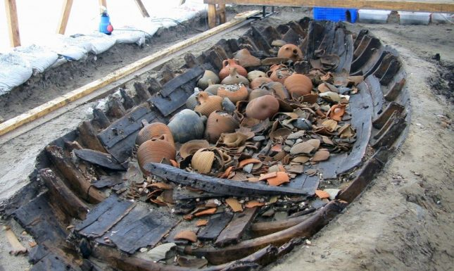 Medieval shipwreck Istanbul 2