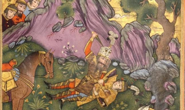 Rostam and Sohrab 2
