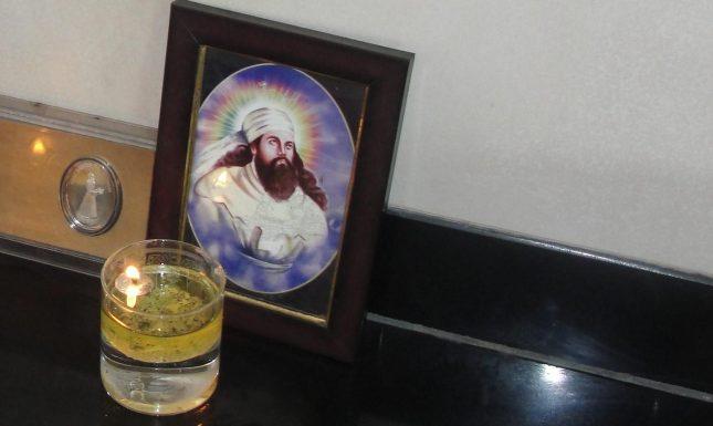 Zoroaster Parsi candle