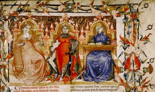 Medieval women boccaccio