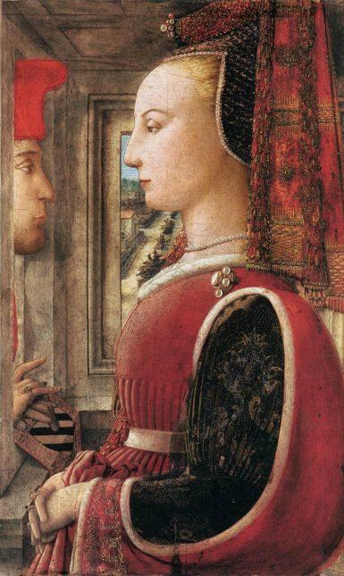 Filippo Lippi portrait of a man and a woman female beaty renaissance italy