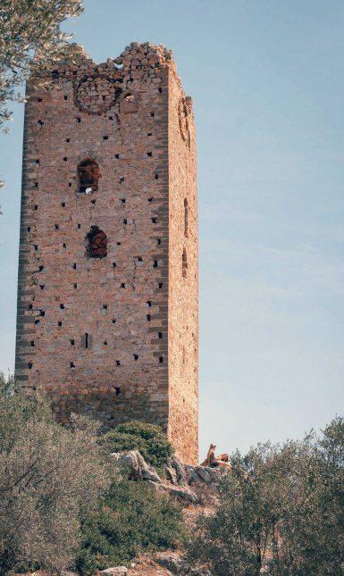 Frankish tower at Mytika 3