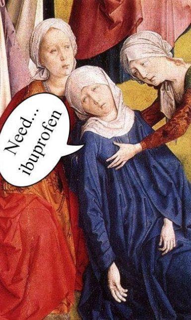 LMB MK Fainting woman menstruation
